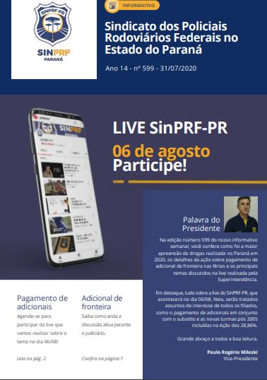 Informativo SinPRF-PR 599